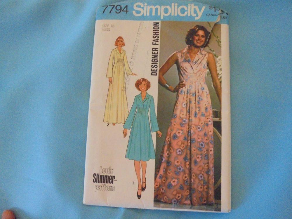 Smocked maxi dress sewing pattern