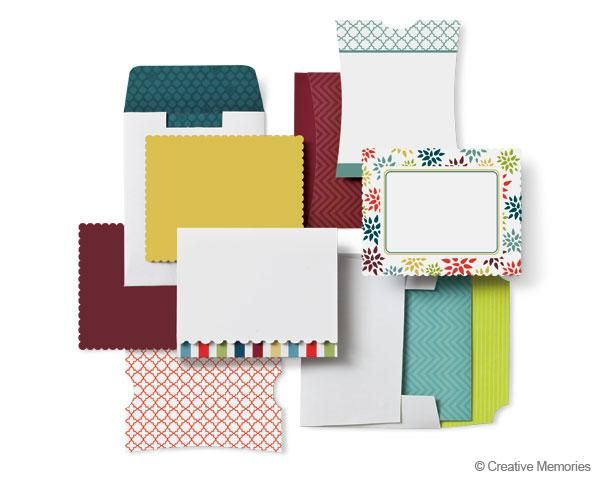 Creative Memories Nordic Card Kit Limited Edition Nordic