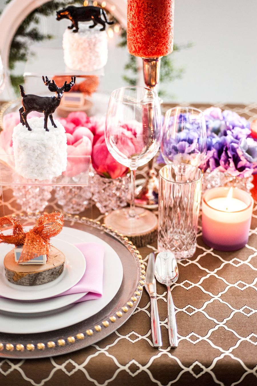 wedding table decor detail | Wedding Inspirations | Pinterest ...
