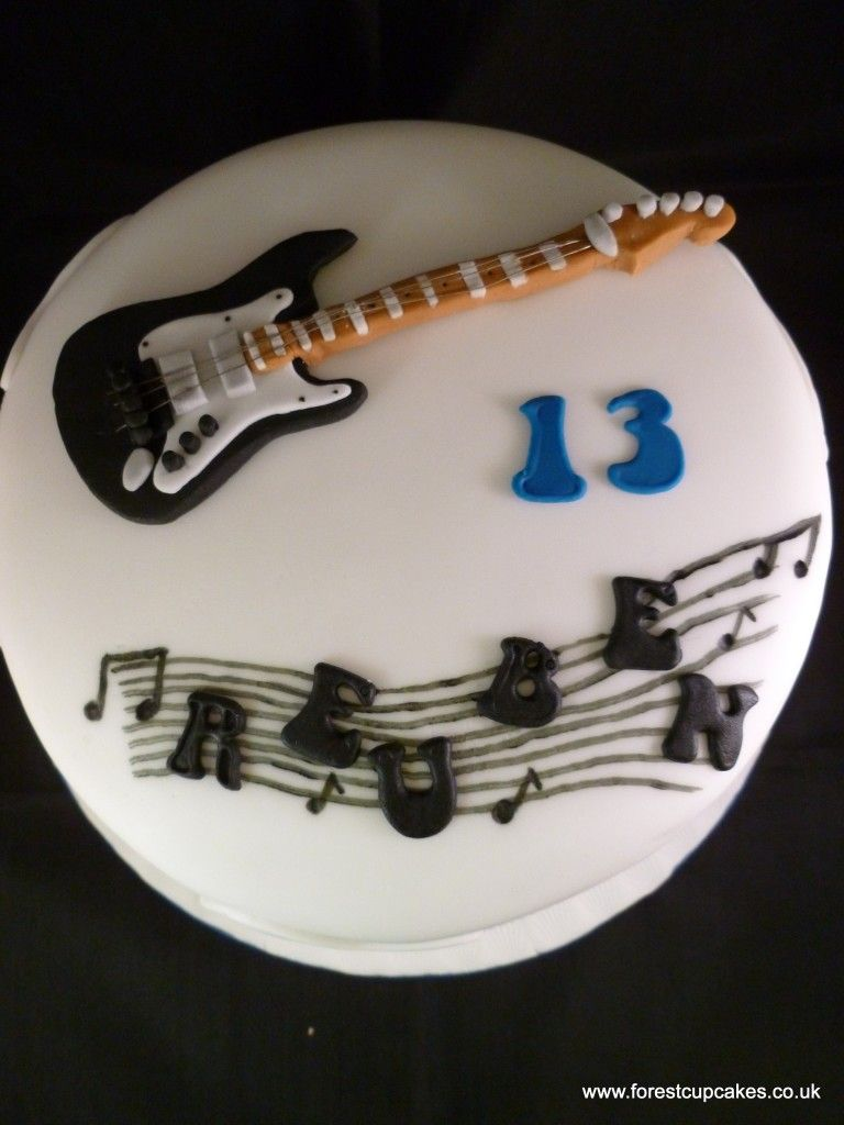 images of guitar cakes Guitar Cake cake decorating ...