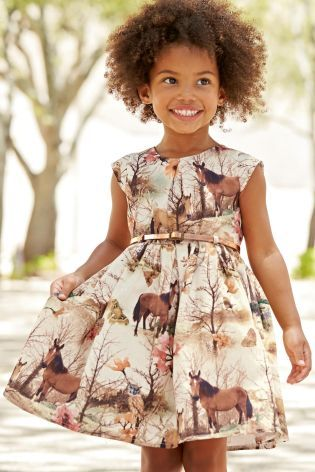 Buy Horse Scene Prom Dress (3mths-6yrs) online today at Next: Belgium