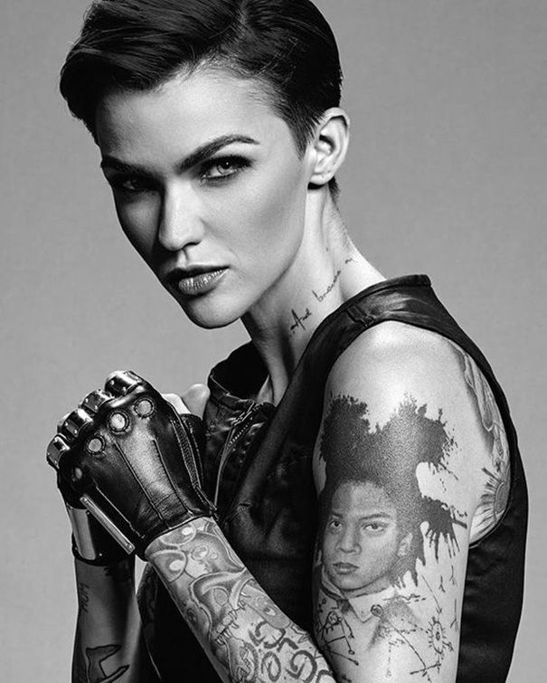 2019 Ruby Rose Tattoos Character Ideas Ruby Rose Tattoo Ruby