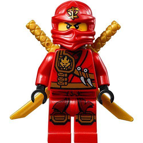 Lego Ninjago Minifigure Kai Zukin Robe Red Ninja With Dual Gold Swords 70745 Lego Kai Lego Ninjago Ninja Lego Ninjago