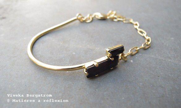 Viveka Bergstrom Strass bracelet