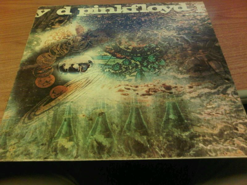 LP PINK FLOYD A SAUCERFUL OF SECRETS COLUMBIA 2C 064-04190 VG/VG- FRANCE 1978 PV