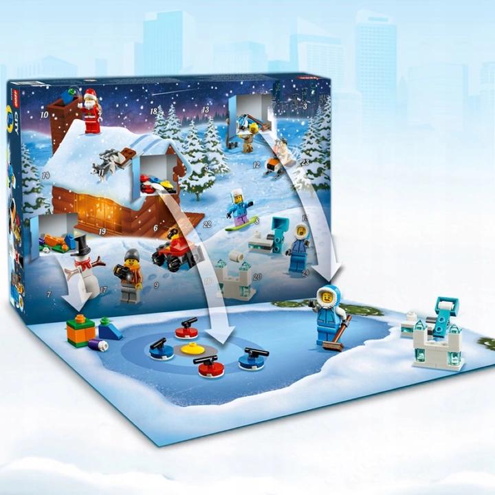 Lego City Kalendarz Adwentowy 60235 8468615510 Allegro Pl Lego City Advent Calendar Lego City Lego City Sets