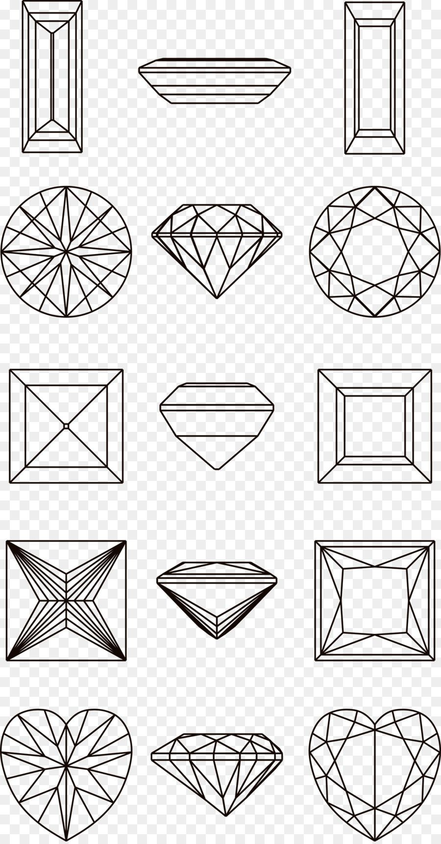 Drawing Diamond Illustration Diamond Line Diamond Illustration Diamond Drawing Circle Drawing