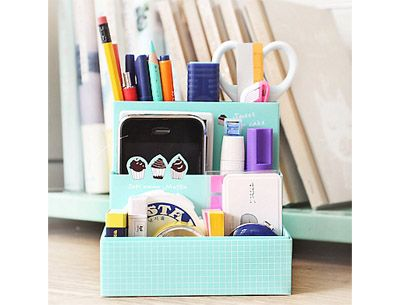 Japanese And Korean Childrens Fashion Clothing And Accessories Desk Tidy Diy Desk Tidy Diy Desk