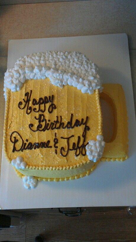 Beer mug cake   CAKES I MADE   Pinterest   Cake, Birthdays ...