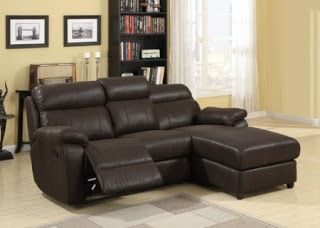 loveseat recliner with chaise lounge | Modern Sectional ...