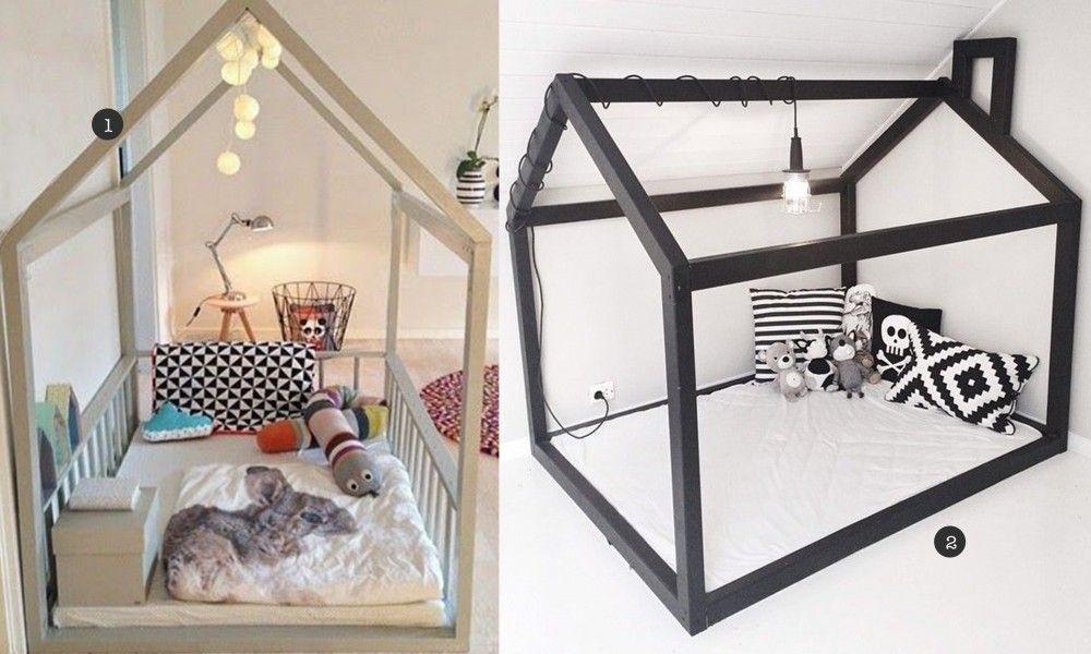 Onwijs huis bed zelf maken - Bed zelf maken, Bed kind en Kinderbed SY-28