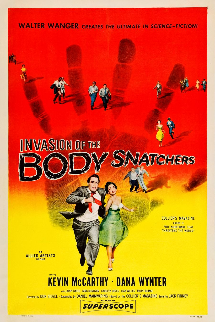 Invasion of the Body Snatchers.....1956