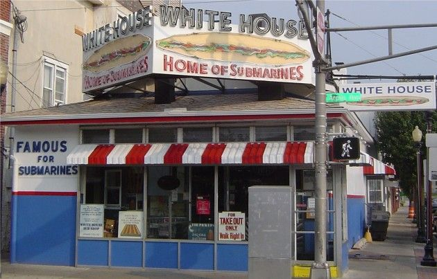 White House Sub Shop Atlantic City Subs South Jersey Cheesesteaks Atlantic City