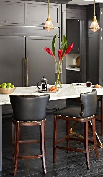 Mixing Minimalist Design And Clic Construction Our Exclusive Mille Bar Stool Masters Transitional Style