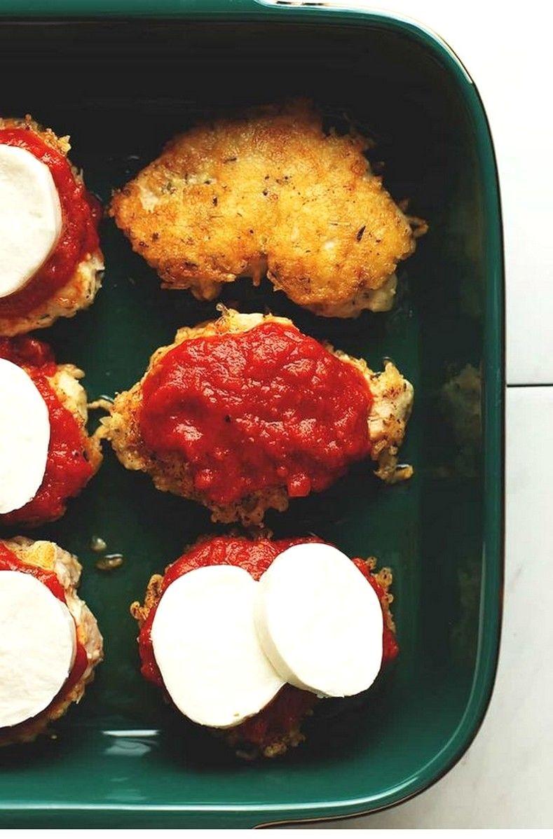 Keto Chicken Parmesan #ketorecipesforbeginners