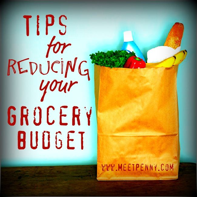 Preparation tips to help reduce your grocery budget