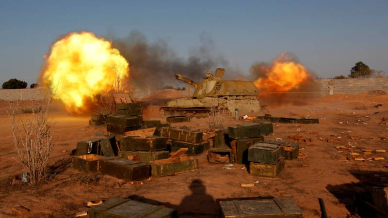 IS is nog lang niet verslagen in Sirte   NOS
