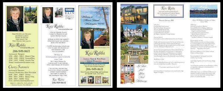 Resume Brochures Ideal Vistalist Co