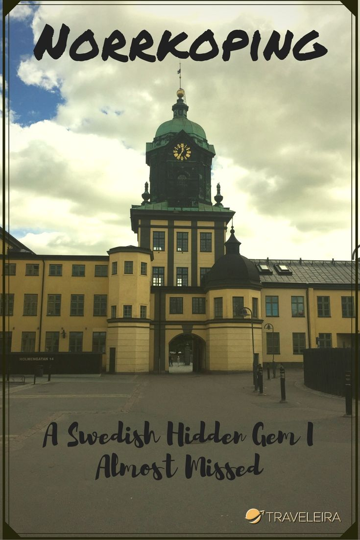 Norrköping is a Swedish City you will never listen about, but it definitely worth it!