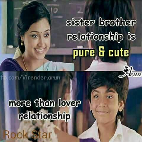 I love my sis and bro | kavithaigal | Brother sister quotes, Brother