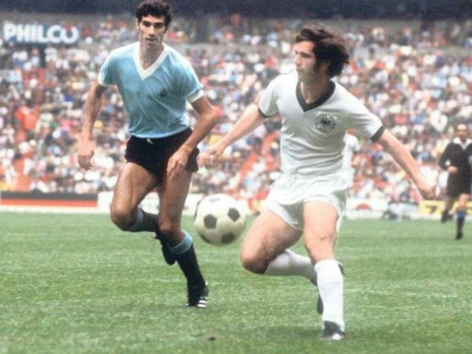 Image result for uruguay vs germany 1970