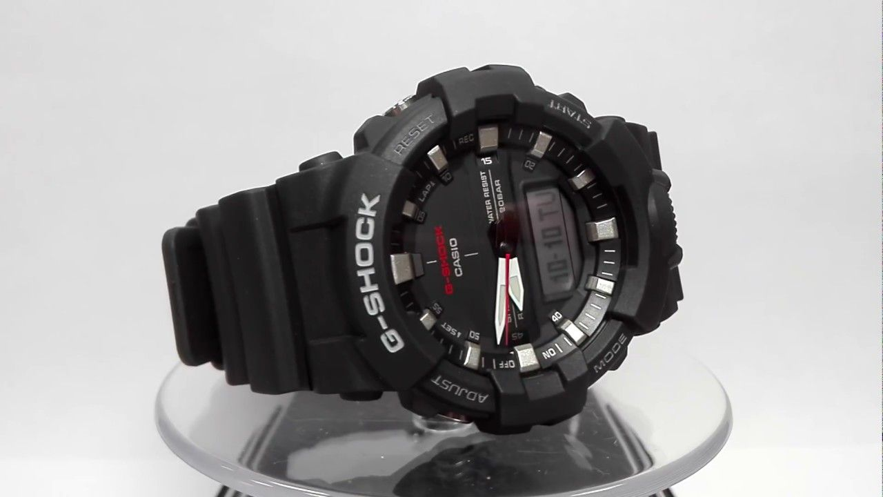 031fbf11fa22 Casio G-Shock GA-800-1AER watch video 2017