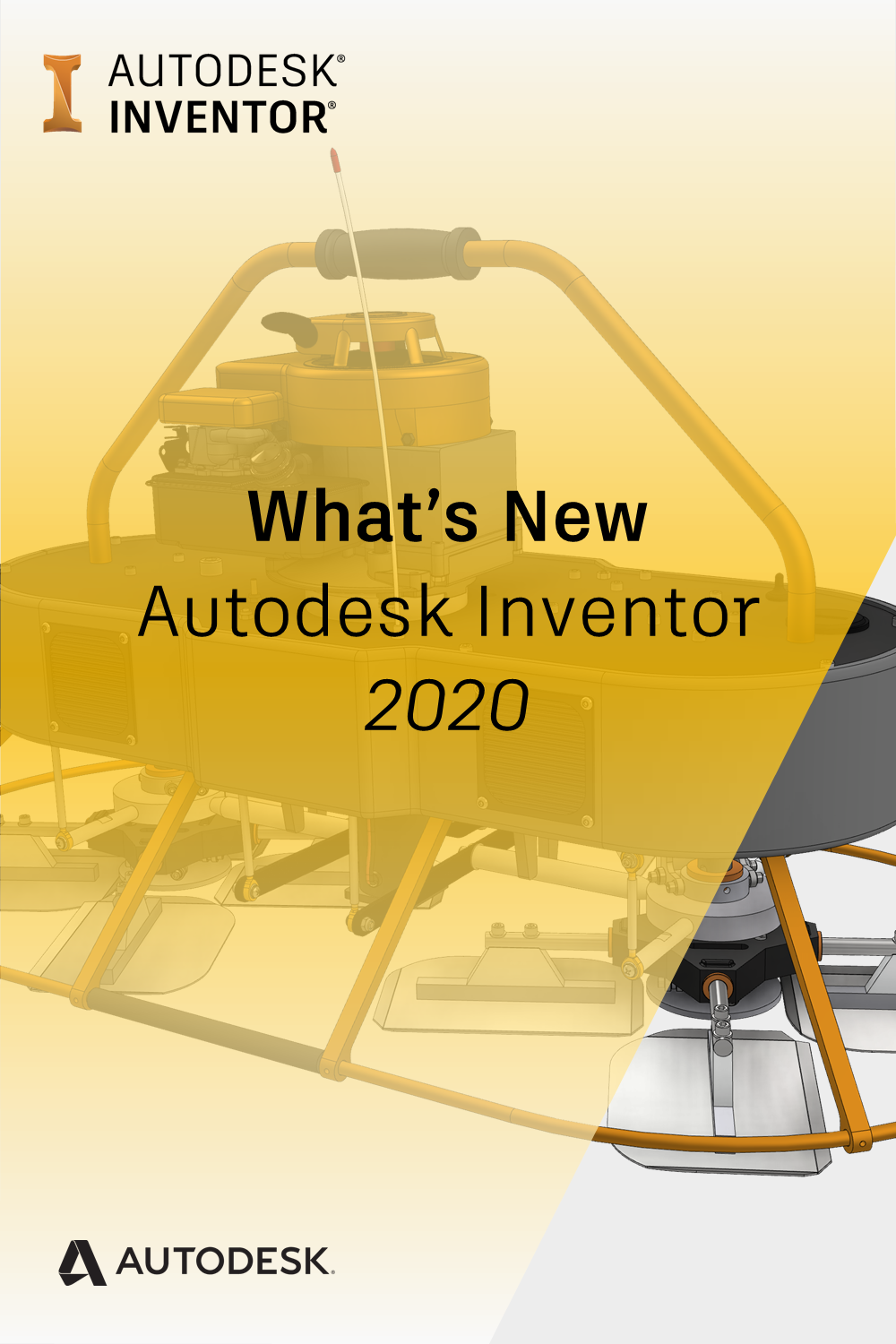Inventor 2020 What's New A fresh new look and feel