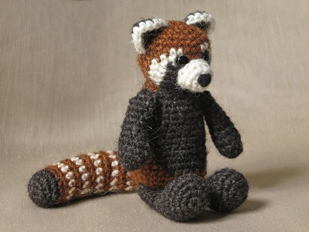 Handleiding Haken Haakpatroon Rode Panda Een Uniek Product Van