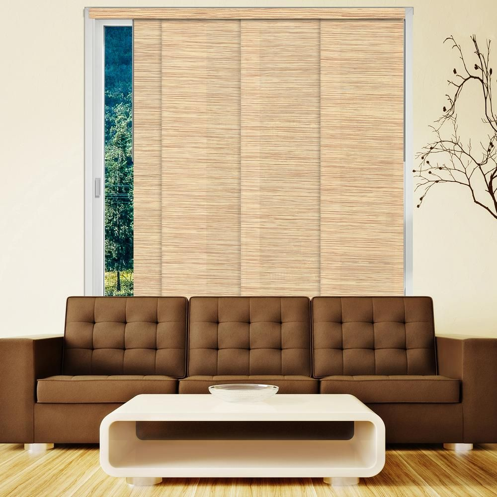 Chicology panel track blinds nile reed cordless light