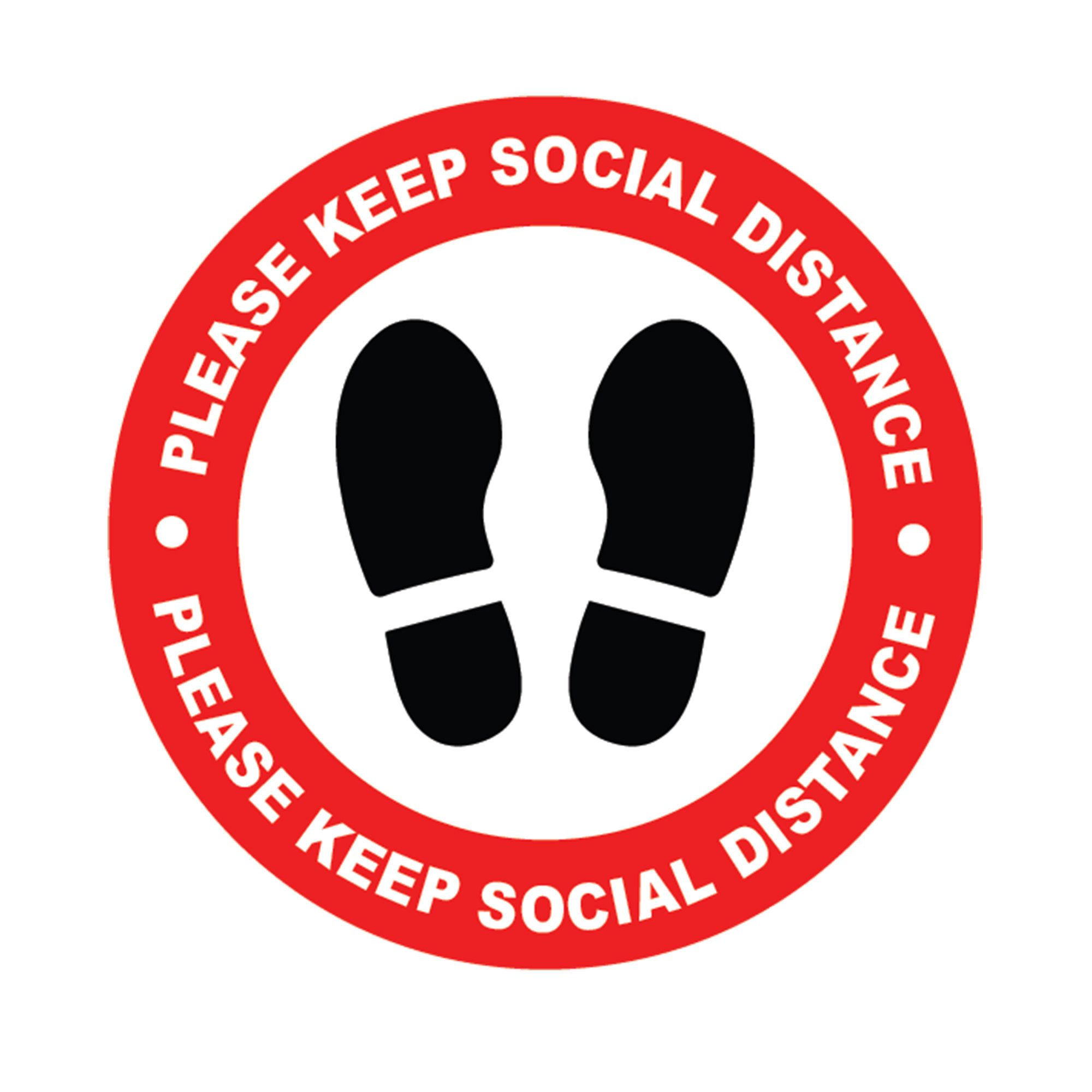Social Distance Self Adhesive Floor Stickers Keep Social Distance Vinyl Circle Wall Glass Floor Sti Floor Stickers Unique Learning System Social Distance