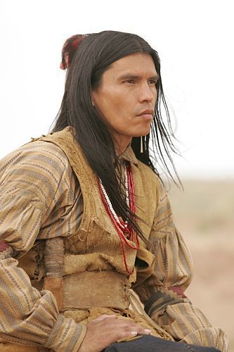 Comanche Moon | David Mid-Thunder as Famous Shoes an