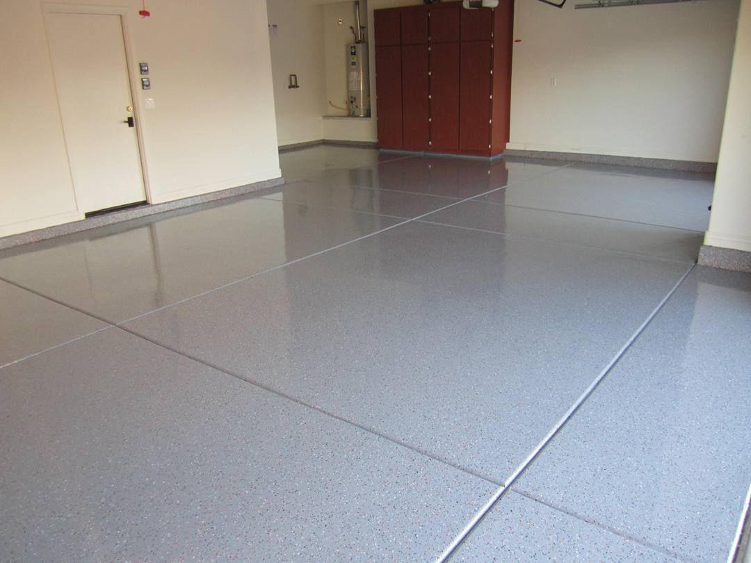 epoxy garage floor white - Google Search   Floor   Pinterest   Epoxy,  Concrete floor and Concrete