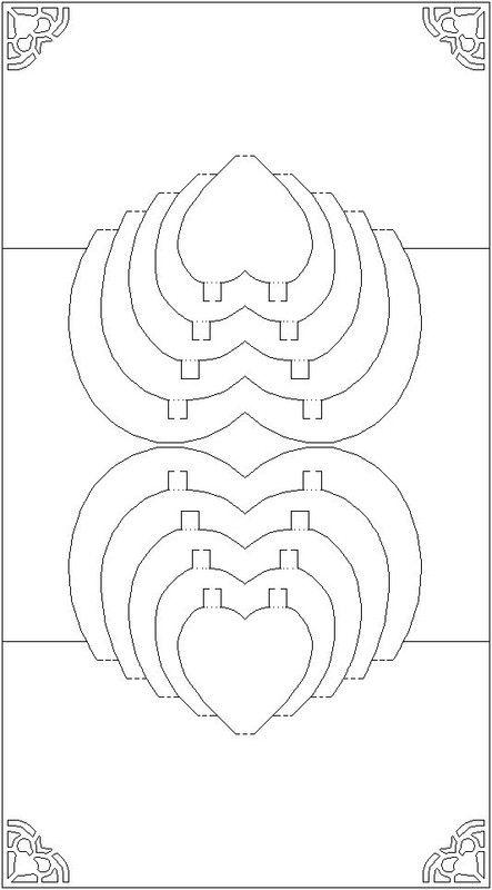 Crealolo Page 122 Kirigami Patterns Pop Up Card Templates Kirigami