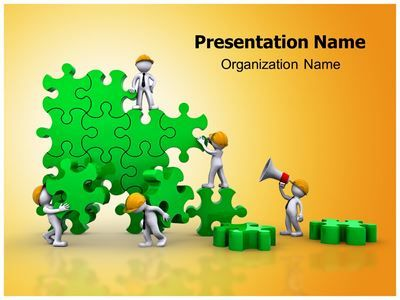 Download Our Professionally Designed Building Puzzle Powerpoint