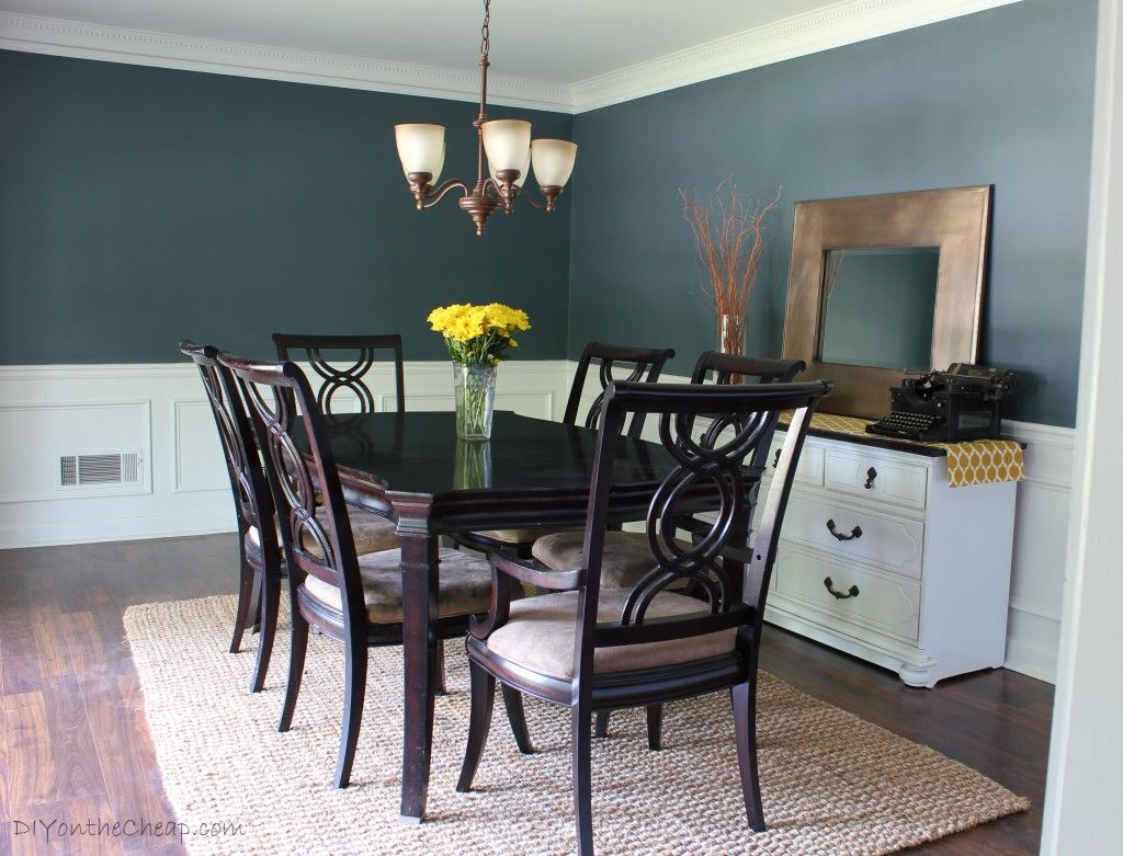 gray dining room paint colors. Room · Dining Before \u0026 After -- Love This Paint Color, Nocturnal Gray! Gray Colors