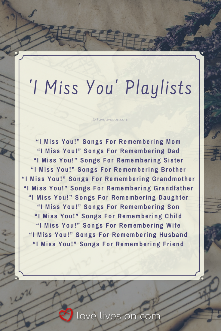 Songs about remembering someone