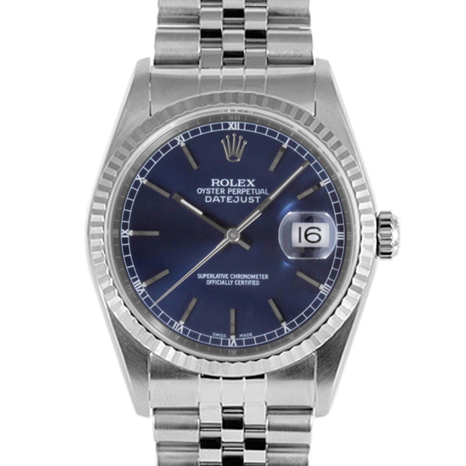 mens rolex datejust ii stainless steel black stick dial fluted men s rolex datejust stainless steel blue stick dial fluted bezel jubilee band