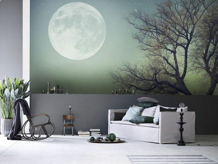 quels stickers trompe l 39 oeil choisir id es en 50 photos nature posters murals and stickers. Black Bedroom Furniture Sets. Home Design Ideas