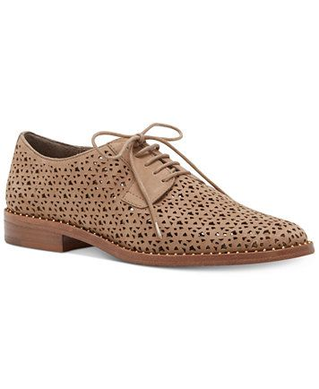 59120496f7 Vince Camuto Lesta Perforated Lace-Up Oxfords | macys.com | look in ...
