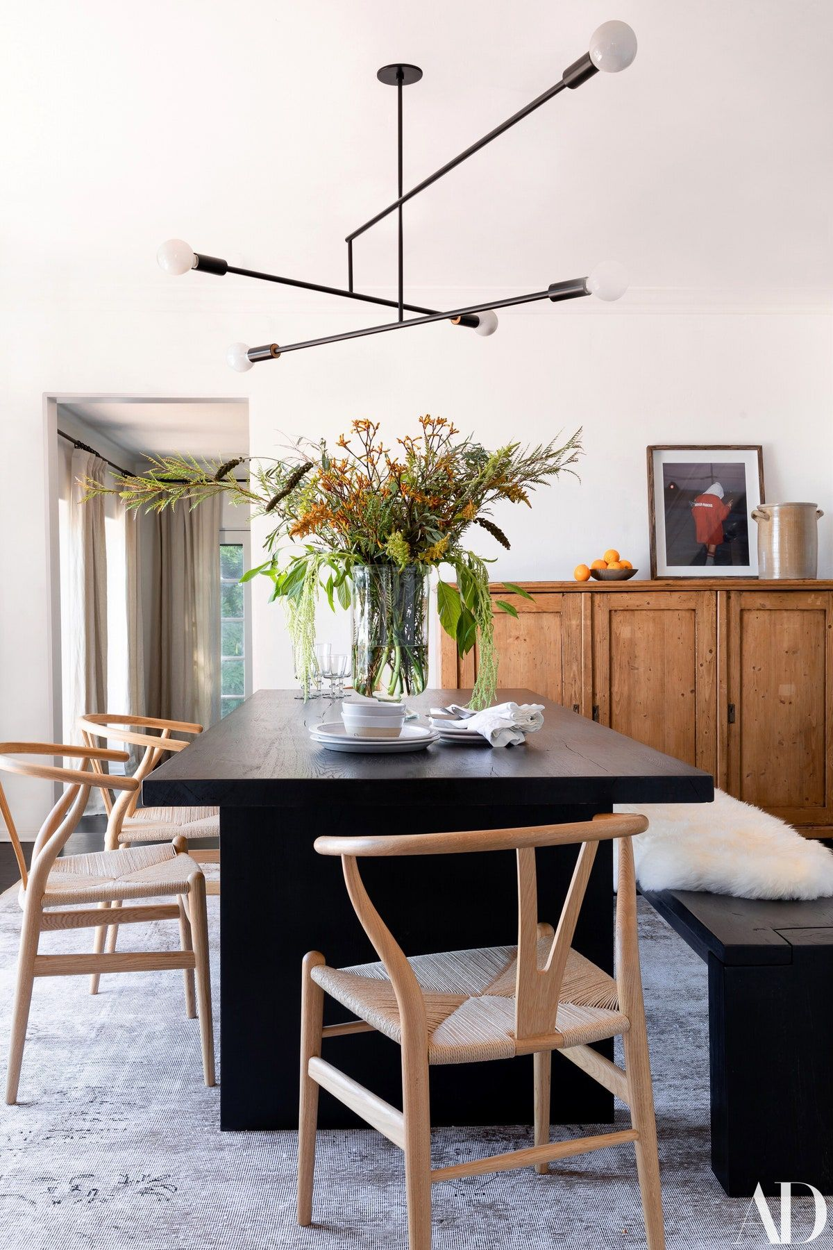 Tour Ashley Tisdale S Hollywood Hills Home In 2020 Modern Dining