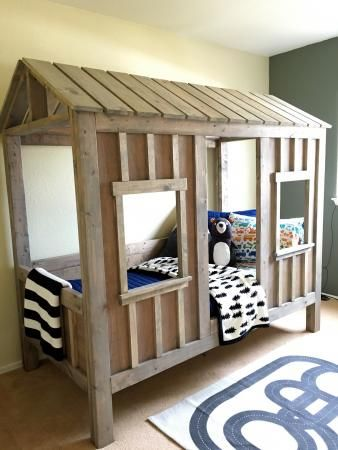 Coen S Cabin Bed Do It Yourself Home Projects From Ana