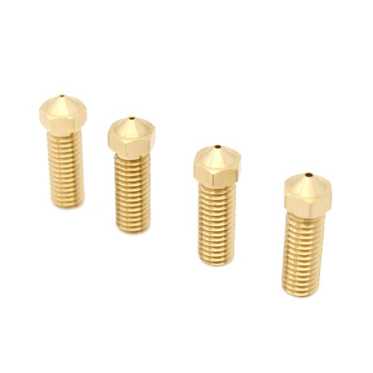 3D Printer Brass Screw Thread M6 Extruder Nozzle 1.75mm Filament For 3D Pinter