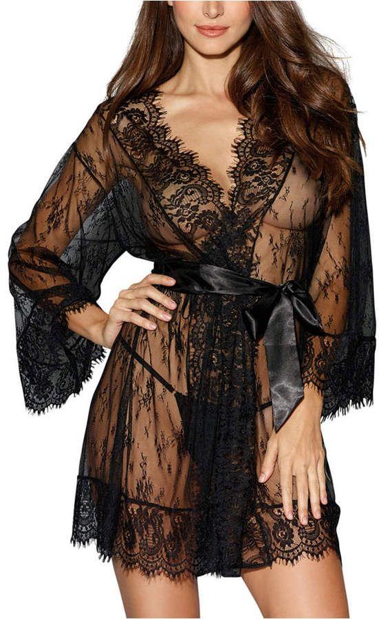Lingerie Lace Dress Babydoll Womens Underwear Nightwear Sleepwear Bodysuit Nc