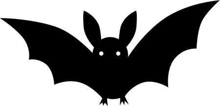 Stock Illustration Black And White Drawing Of A Bat Black And White Drawing Black And White Instagram Drawings