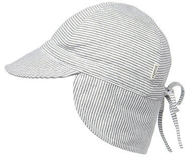 b69321b5d76 Toshi sun hat baby grey flap cap