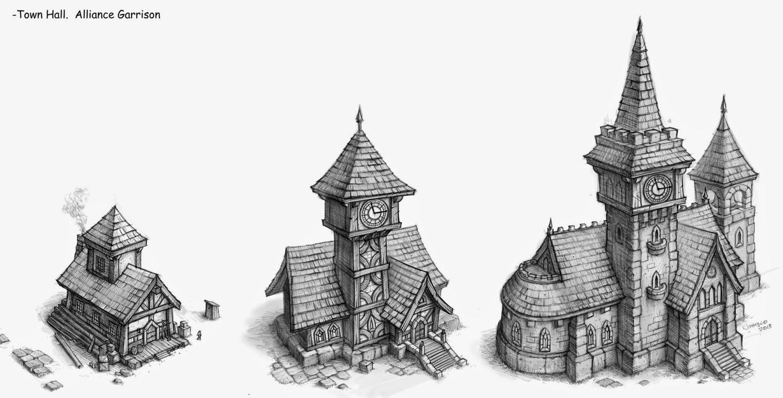 Http Jloart Blogspot Com 2014 12 Some More Garrison Concepts Html Concept Art Castle Illustration Buildings Artwork