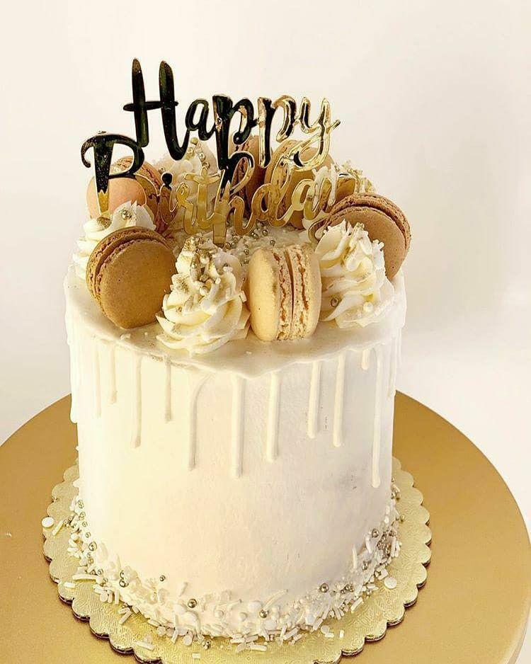 Happy Birthday Macaron Cake Sweet 16 Birthday Cake 16 Birthday Cake Golden Birthday Cakes