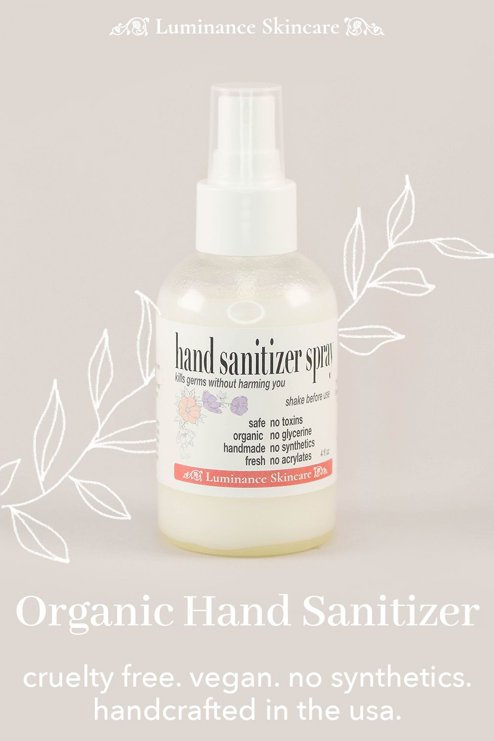 Our Anti Bacterial Hand Sanitizer Is A Highly Effective Formula