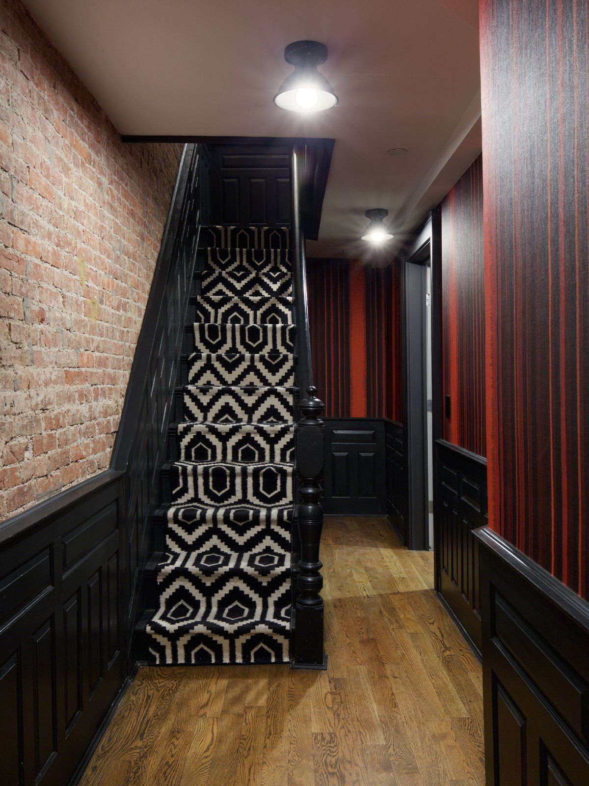 Best Crown Heights Brownstone By Kimberly Peck Wood Railing 400 x 300