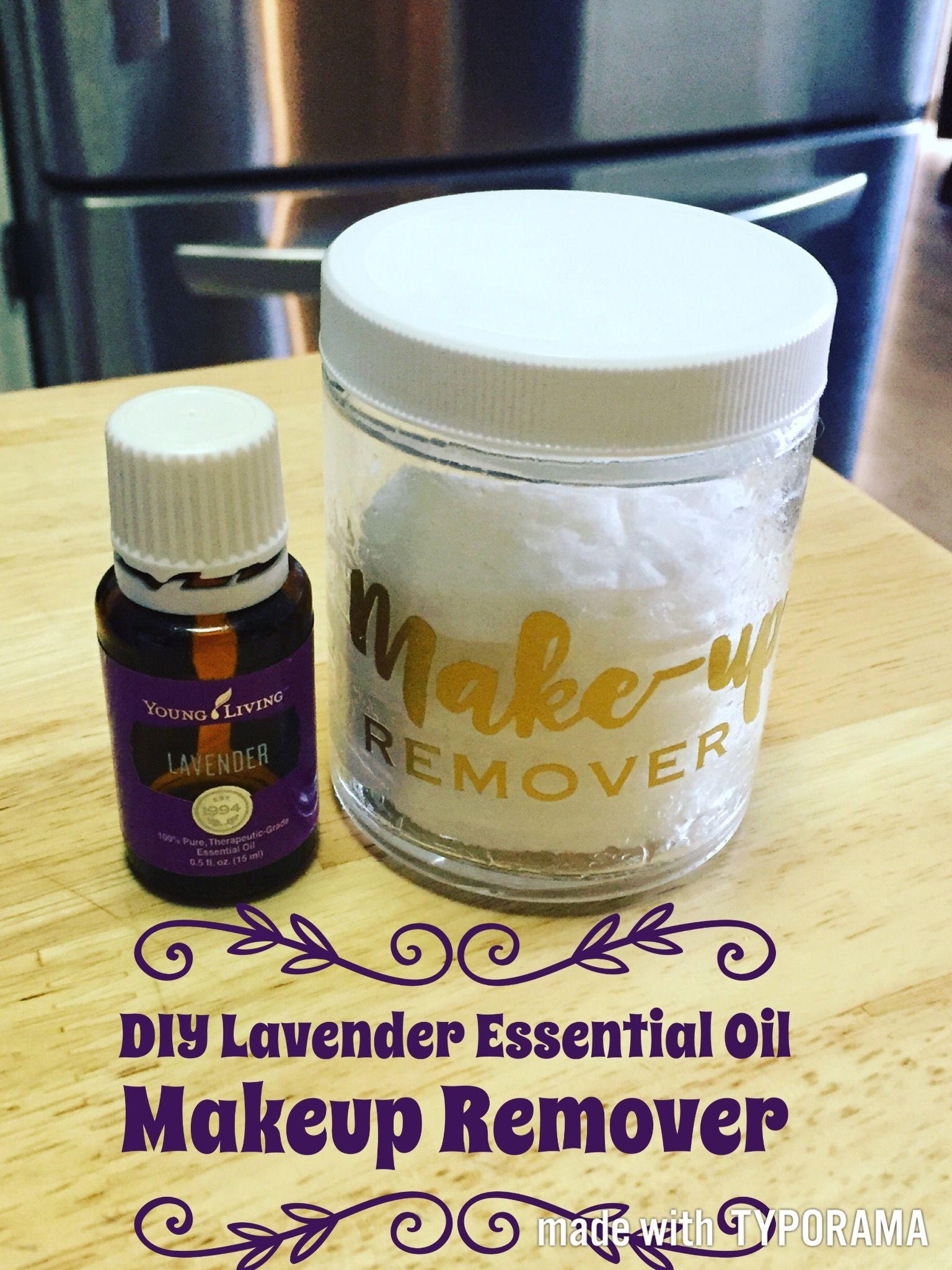 DIY MakeUp Remover Pads and Lavender Orange Bath Salts